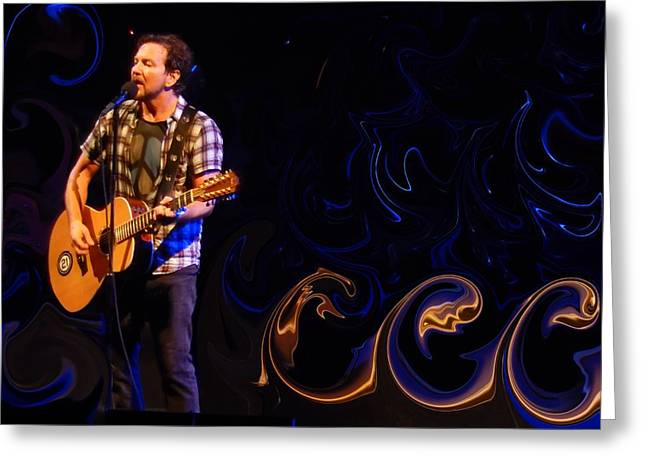 Pearl Jam Photographs Greeting Cards - Sirens Greeting Card by David Powell