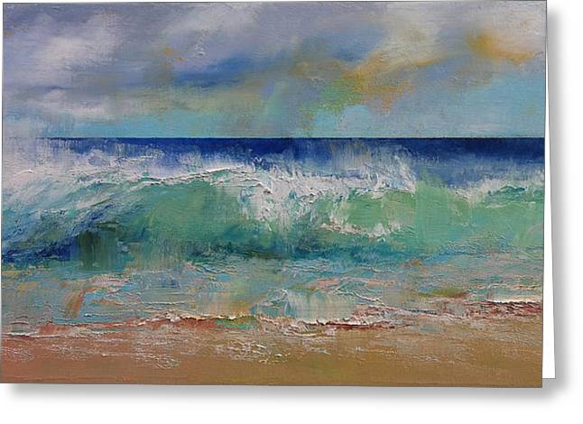 Siren Art Greeting Cards - Sirens Greeting Card by Michael Creese