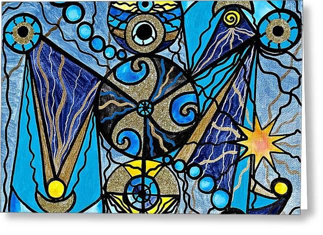 Sirius Greeting Card by Teal Eye  Print Store