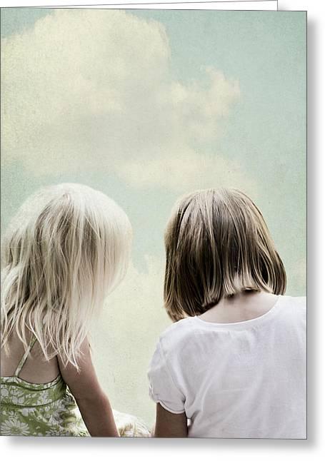 Sisterly Greeting Cards - Sister Greeting Card by Di Kerpan
