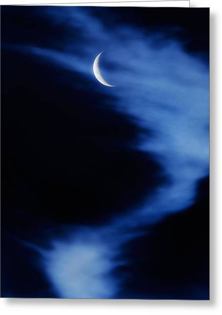 Mystical Moons Greeting Cards - Sister Of The Moon Greeting Card by Bill  Wakeley