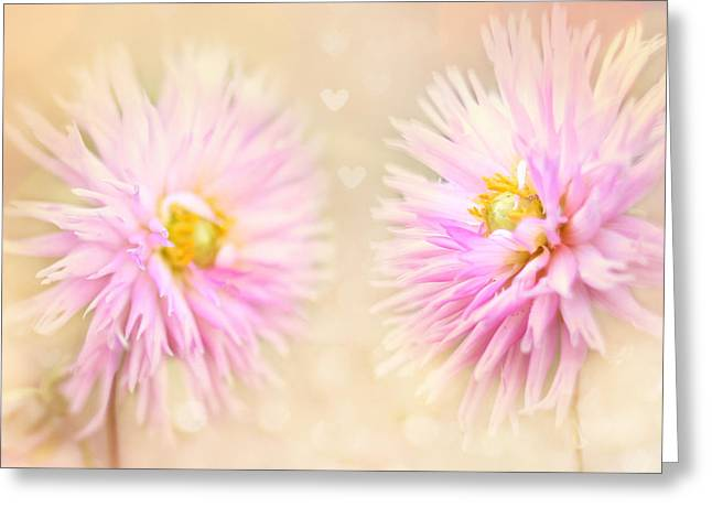 Flower Photos Greeting Cards - Sisters Greeting Card by Amy Tyler