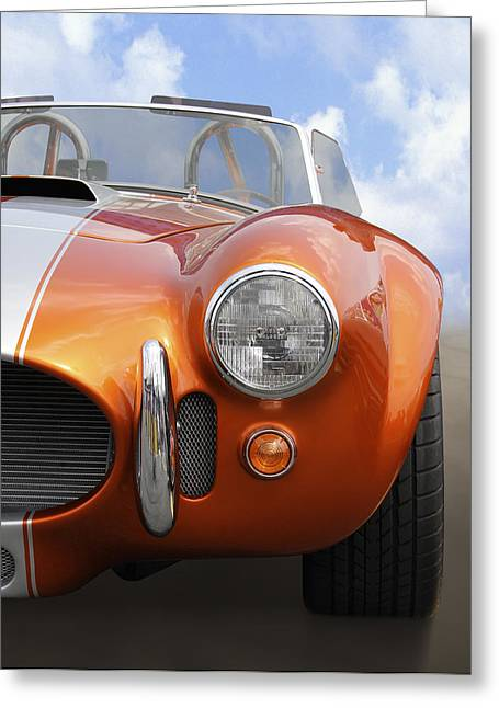 Shelby Greeting Cards - Sitting Pretty - Cobra Greeting Card by Mike McGlothlen