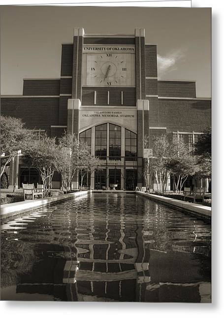 Oklahoma University Greeting Cards - Six Thirty Three Greeting Card by Ricky Barnard