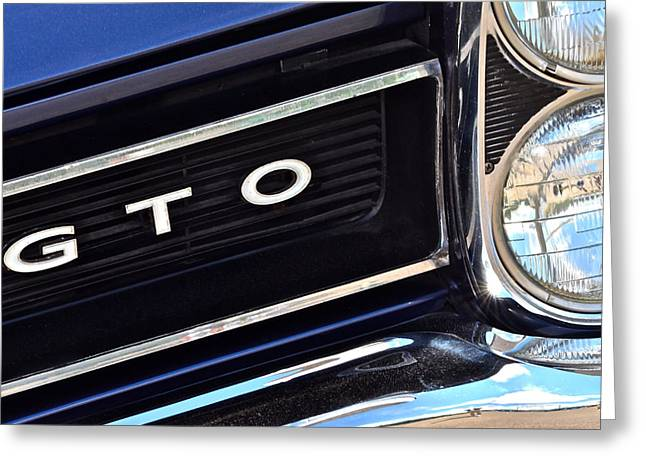 Seventy-two Greeting Cards - Sixty Five GTO Greeting Card by Frozen in Time Fine Art Photography