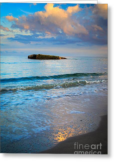 Scandinavia Greeting Cards - Skagen Light Greeting Card by Inge Johnsson
