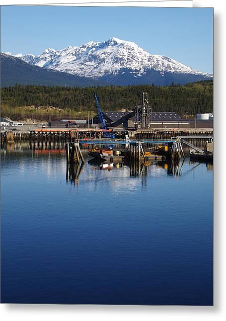Klondike Gold Rush Greeting Cards - Skagway Alaska Greeting Card by Marilyn Wilson
