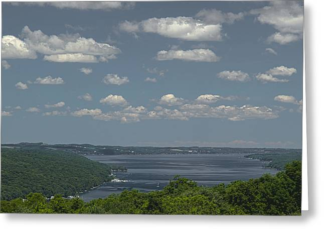 Skaneateles Greeting Cards - Skaneateles Lake Greeting Card by Richard Engelbrecht