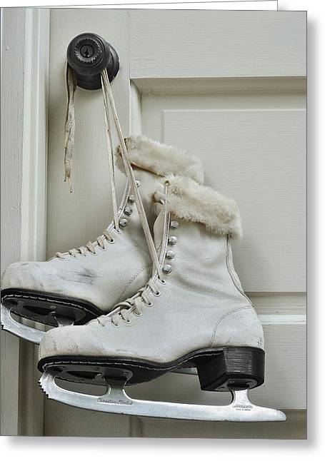Krasimir Tolev Photography Greeting Cards - Skating Boots Greeting Card by Krasimir Tolev
