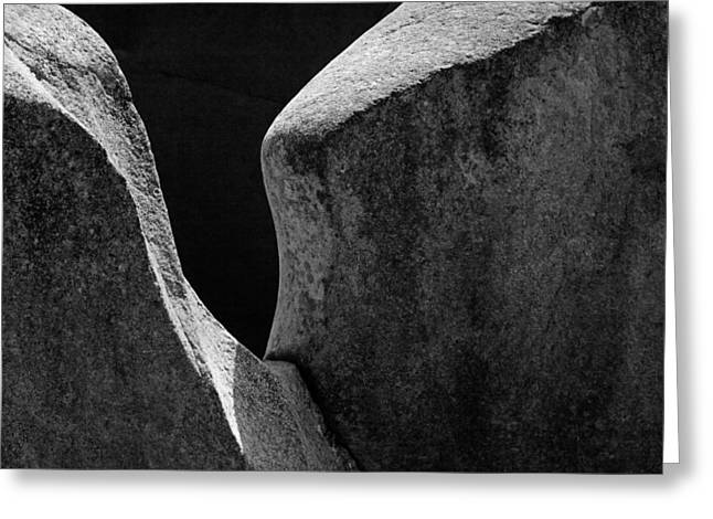 Forming Stones Greeting Cards - SKC 8596 The Romance of Light Greeting Card by Sunil Kapadia