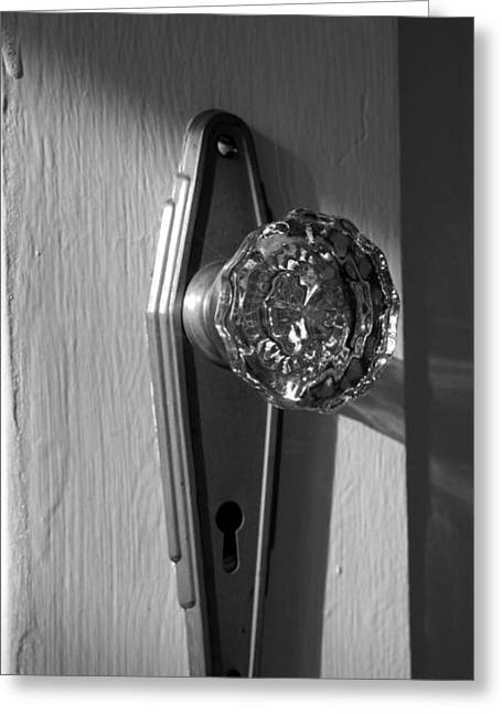 Old Door Greeting Cards - Skeleton Key Greeting Card by Cheryl Young