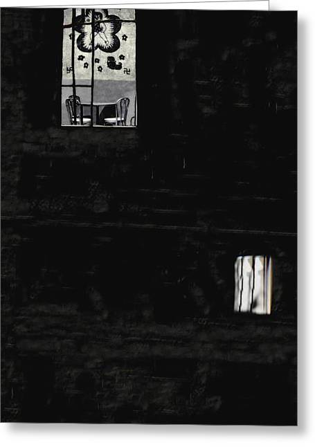 Bam Greeting Cards - Skinhead Alley Greeting Card by Alfredo Martinez