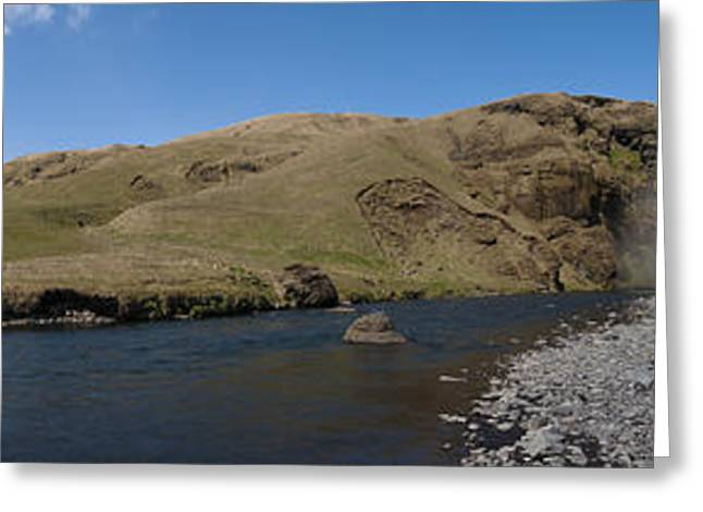 Artistic Photography Greeting Cards - Skogafoss #1 Greeting Card by Andy-Kim Moeller