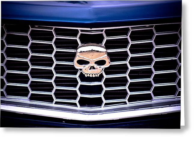Phil Motography Clark Greeting Cards - Skull Grill Greeting Card by Phil