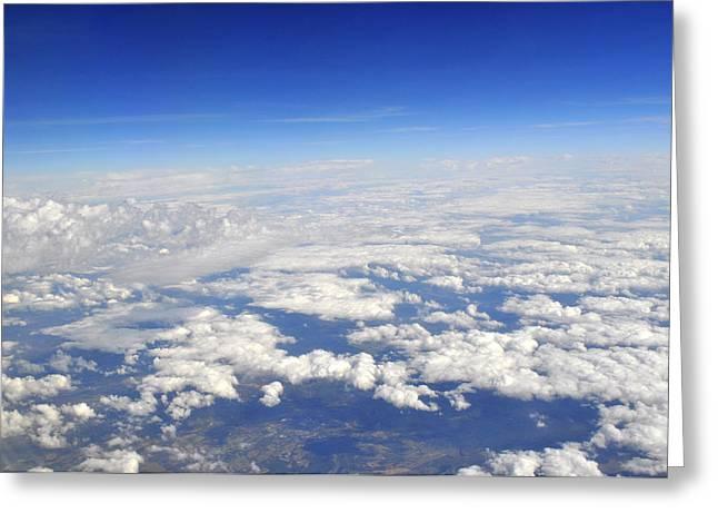 sky Greeting Card by Brynn Ditsche