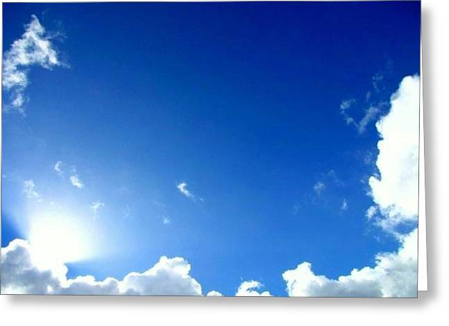 The Followers Greeting Cards - Sky Illuminated Greeting Card by Henry Adams
