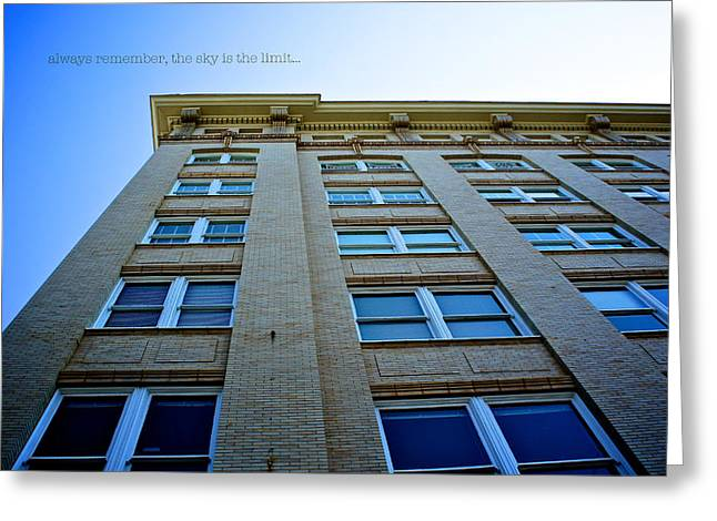 Athens Georgia Greeting Cards - Sky is the Limit Greeting Card by Brandon Addis