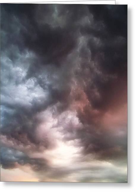 Awe Inspiring Greeting Cards - Sky Moods Greeting Card by Glenn McCarthy