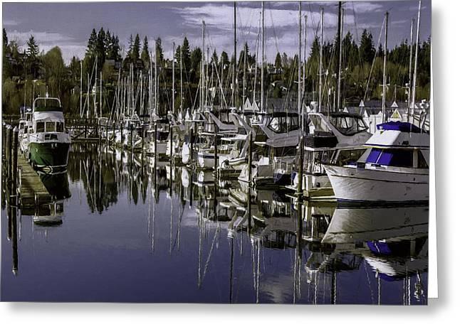 Sailboat Photos Greeting Cards - Sky Reach Greeting Card by Jean OKeeffe Macro Abundance Art
