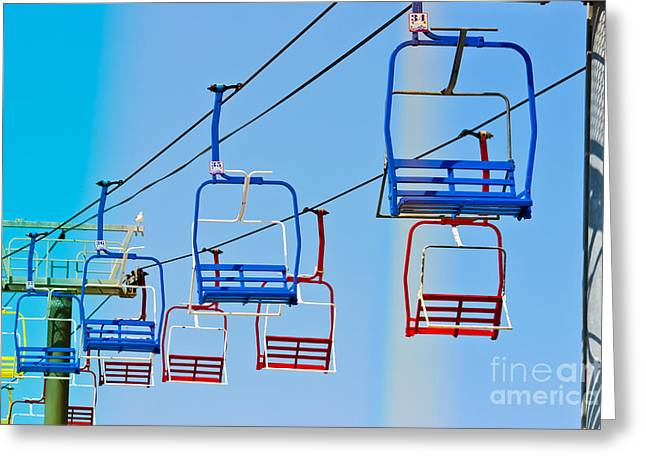 Original Art Photographs Greeting Cards - Sky Ride #34 Greeting Card by Colleen Kammerer