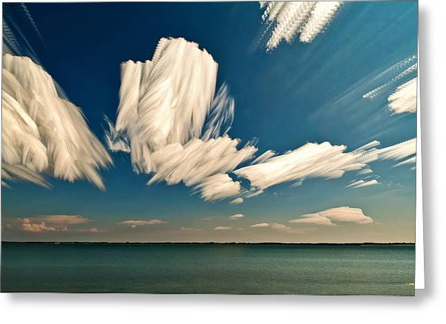 Stack Digital Greeting Cards - Sky Sculptures Greeting Card by Matt Molloy