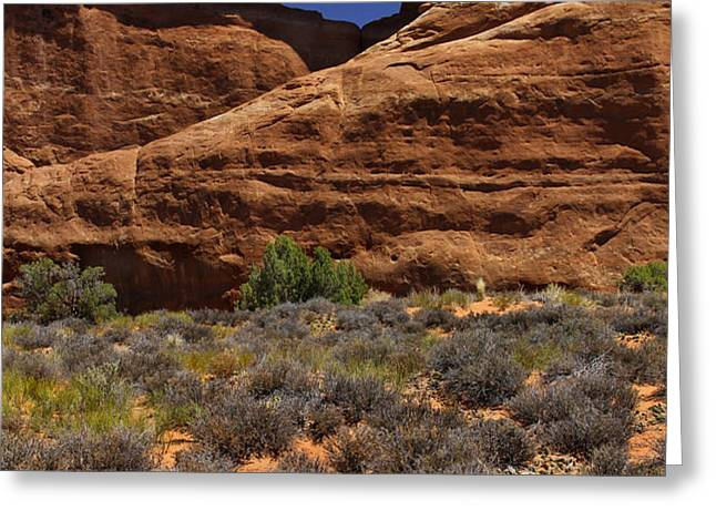 Skyline Arch - Arches National Park Greeting Card by Mike McGlothlen