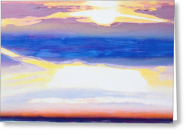 Skyscape Greeting Cards - Skyscape Greeting Card by Lou Gibbs