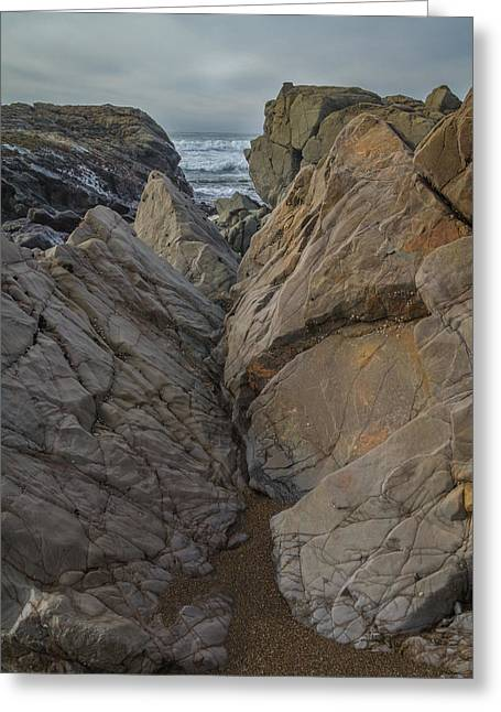 Cambria Greeting Cards - Slanted Perspective Greeting Card by Roger Mullenhour