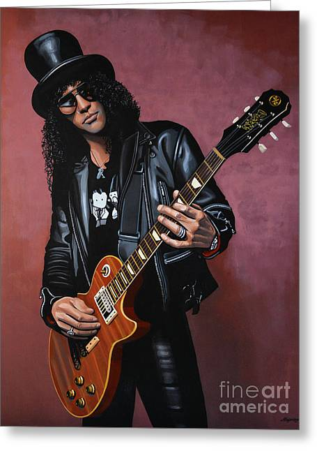 Slash Greeting Cards - Slash Greeting Card by Paul Meijering
