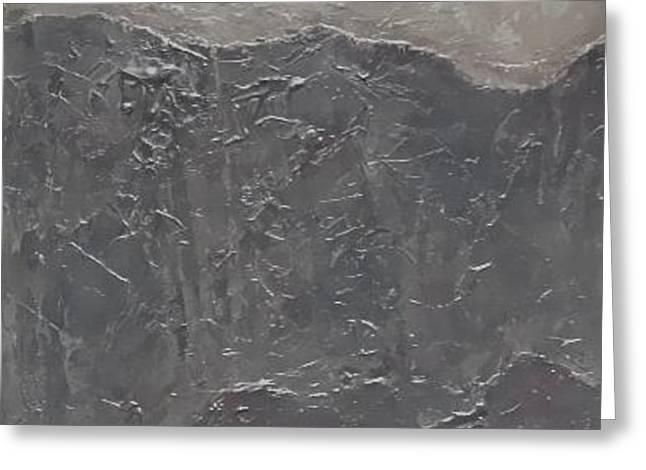Slate Tile No.5 Greeting Card by Jim Ellis