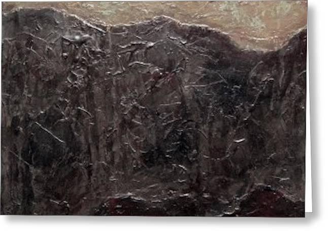 Slate Tile No.6 Greeting Card by Jim Ellis