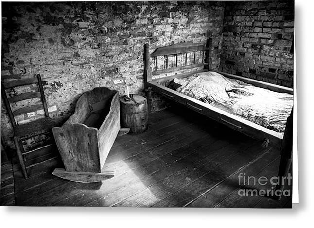 Slaves Photographs Greeting Cards - Slave Living Greeting Card by John Rizzuto