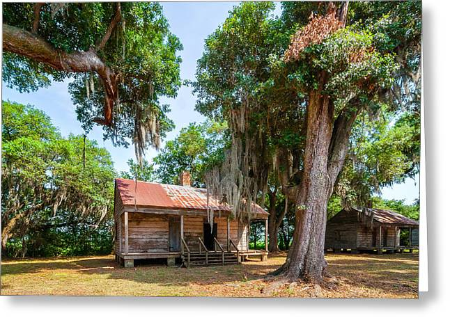 Slave Quarters 2 Greeting Card by Steve Harrington
