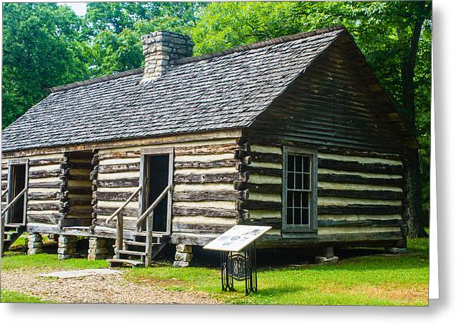 Recently Sold -  - Slaves Greeting Cards - Slave Quarters Greeting Card by Robert Hebert