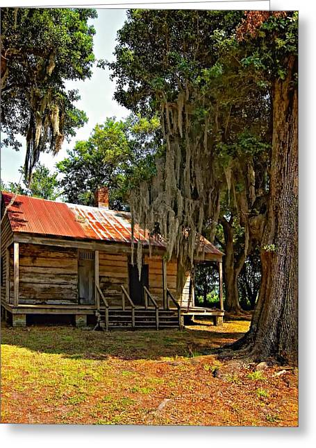 Slaves Greeting Cards - Slave Quarters Greeting Card by Steve Harrington