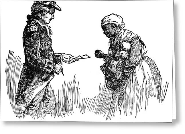 Slavery: Manumission, 1777 Greeting Card by Granger