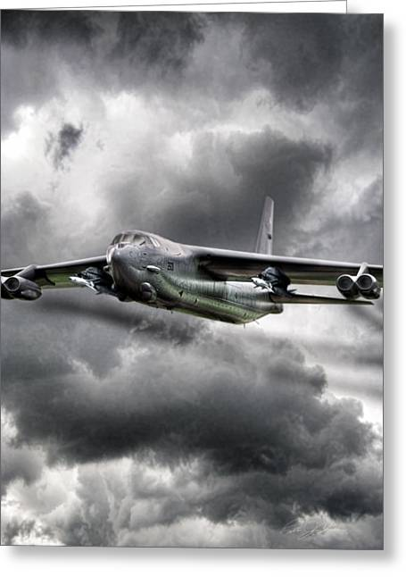 B-52 Greeting Cards - Sledgehammer  Greeting Card by Peter Chilelli