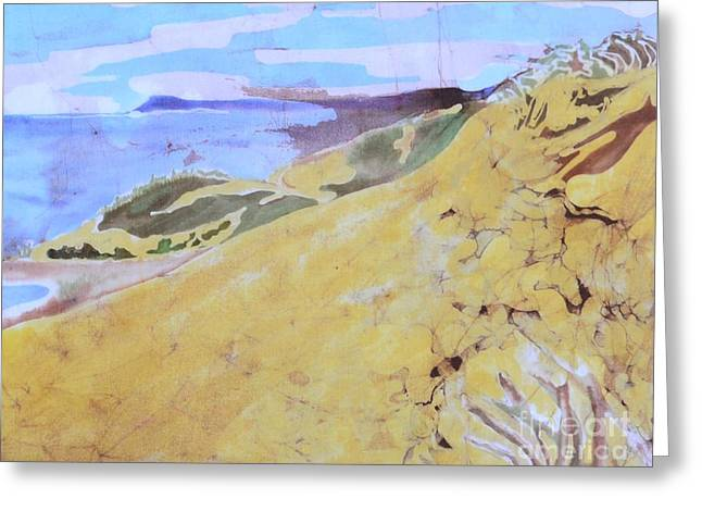 Chicago Tapestries - Textiles Greeting Cards - Sleeping Bear Dunes Greeting Card by Kate Ford