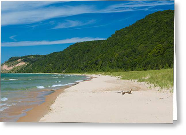 Lake Michigan Greeting Cards - Sleeping Bear Dunes National Lakeshore Greeting Card by Sebastian Musial