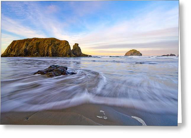 Ocean Images Greeting Cards - Sleeping Giant Greeting Card by Patricia  Davidson