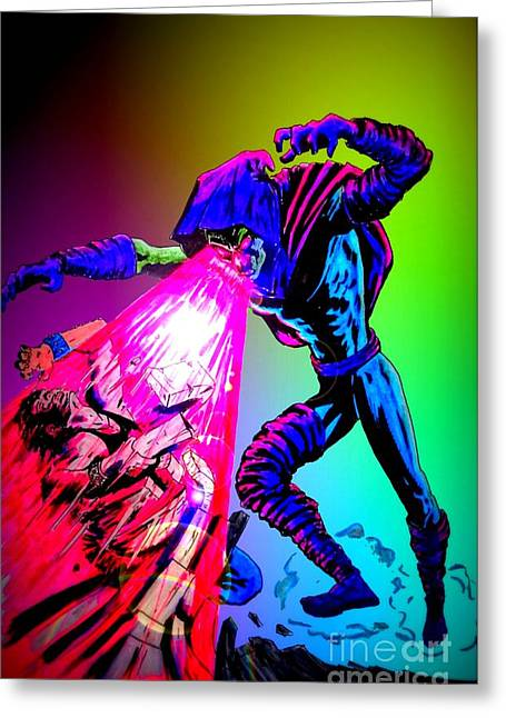 X Men Poster Greeting Cards - Sleepwalker 1E Greeting Card by Justin Moore