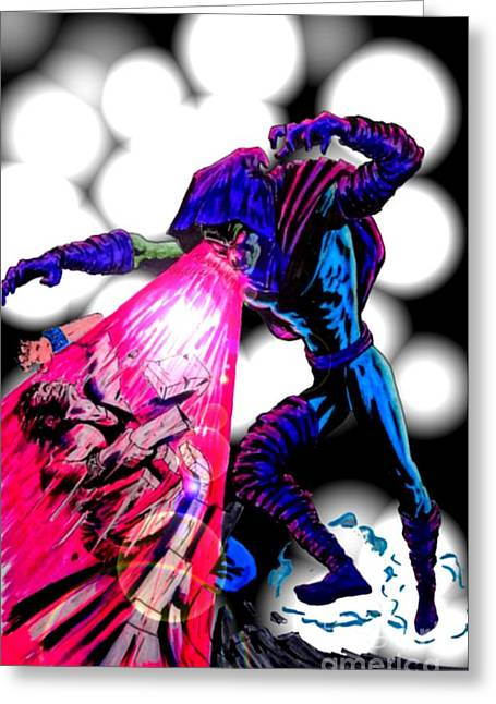 X Men Poster Greeting Cards - Sleepwalker 1G Greeting Card by Justin Moore