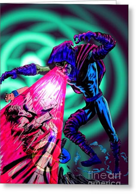 X Men Poster Greeting Cards - Sleepwalker 1I Greeting Card by Justin Moore