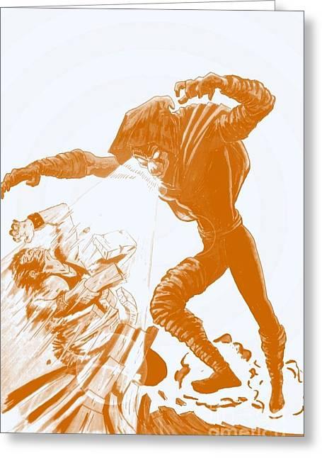 X Men Poster Greeting Cards - Sleepwalker 1J Greeting Card by Justin Moore