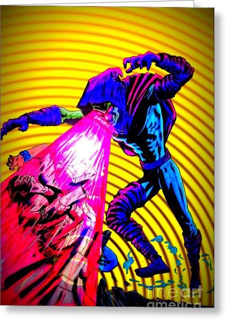 X Men Poster Greeting Cards - Sleepwalker 1K Greeting Card by Justin Moore