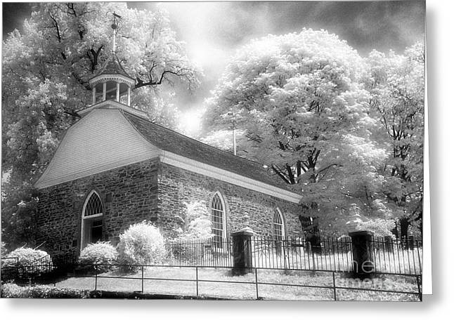 Jeff Holbrook Greeting Cards - Sleepy Hollow Church Greeting Card by Jeff Holbrook