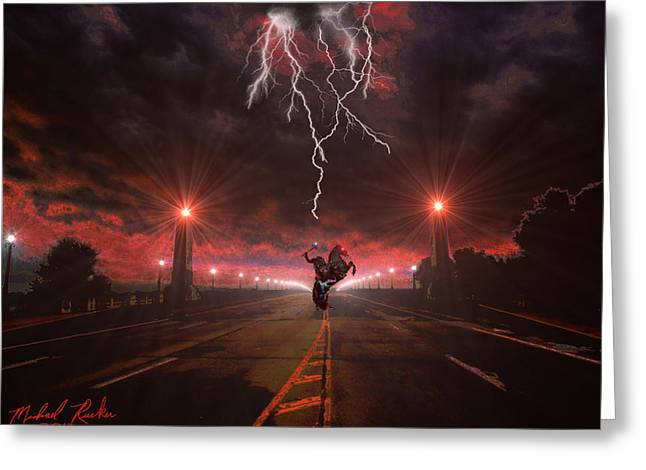 Detroit Legends Greeting Cards - Sleepy Hollow  Greeting Card by Michael Rucker