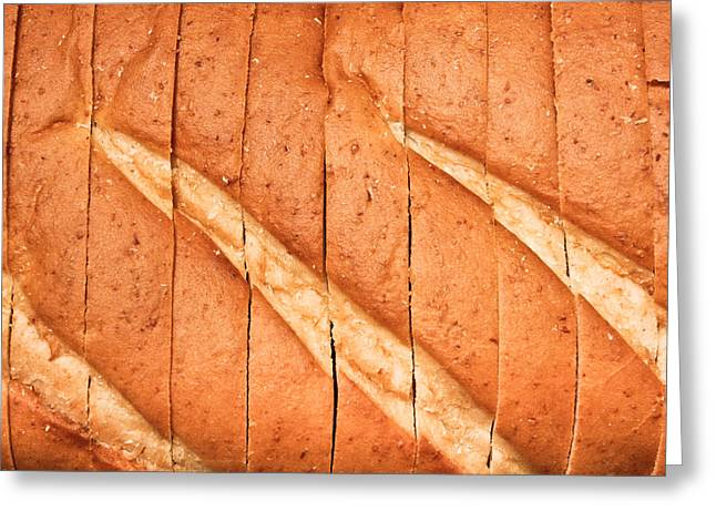 Sliced Bread Greeting Cards - Sliced bread Greeting Card by Tom Gowanlock