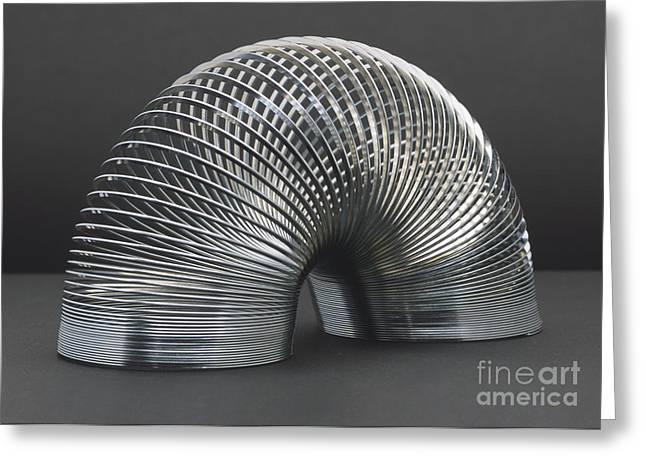 Fad Greeting Cards - Slinky Greeting Card by Trish Gant / Dorling Kindersley