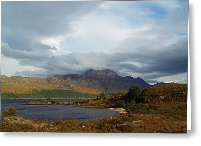 Slioch Greeting Cards - Slioch Greeting Card by Dean Stoker